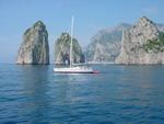 2006 Apr. Segeltörn Thyrrenisches Meer (Italien) - Yachtcharter Schweden & Mitsegeln
