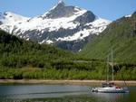 Fjorde in den Lofoten, Norwegen