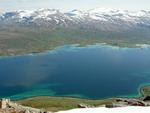 segeln in den Fjorden Norwegens