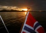 Mitternachtssonne in Norwegen