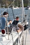 Büroarbeit - Yachtcharter Schweden, Mitsegeln