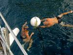 Boje befreien - Yachtcharter Schweden, Mitsegeln