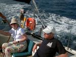Überfahrt - Yachtcharter Schweden, Mitsegeln