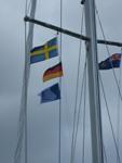 Flaggen - Yachtcharter Schweden, Mitsegeln Schweden