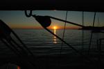 Sonnenuntergang - Yachtcharter Schweden, Mitsegeln Schweden