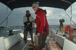 Gewitterstimmung - Yachtcharter Schweden, Mitsegeln Schweden