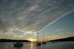 Wolkenstimmung - Yachtcharter Schweden, Mitsegeln Schweden