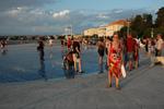 Zadar Meeresorgel - Yachtcharter Schweden, Mitsegeln Schweden
