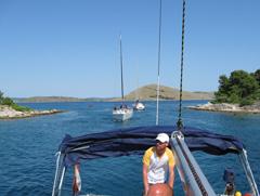 Kornaten - Yachtcharter Schweden, Mitsegeln Schweden
