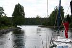 südliche Einfahrt nach Stockholm - Yachtcharter Schweden & Mitsegeln Stockholm, Yachtcharter Göteborg