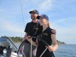 Rebecca und Werner - Yachtcharter Schweden & Mitsegeln Stockholm, Yachtcharter Stockholm, Yachtcharter Göteborg