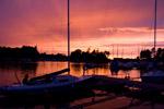 Skansholmen Sonnenuntergang - Yachtcharter Schweden & Mitsegeln, Yacht-Charter Göteborg, Bareboat Stockholm