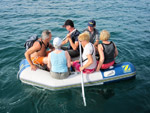 Dingi-Ride - Yachtcharter Schweden, Mitsegeln Schweden