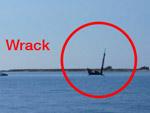 Wrack erforschen - Yachtcharter Schweden, Mitsegeln Schweden