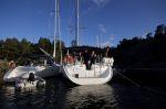 2012 Segeltörn Schweden Stockholmer Schären Träskö Storö Bullandö Schären-Yachtcharter