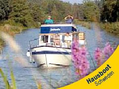 Hausboot in Schweden mieten