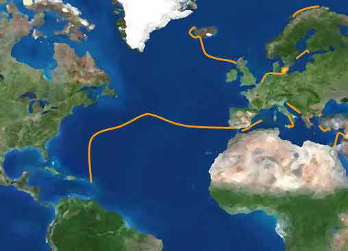 Segeltörnarchiv - Segelrouten - Yachtcharter Schweden & Mitsegeln