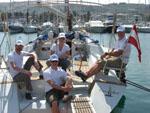Stammcrew (2009-10 Segelreise) - Yachtcharter Schweden & Mitsegeln