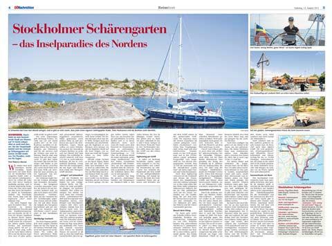 Stockholmer Schärengarten - im Inselparadies des Nordens - Yachtcharter Schweden & Mitsegeln