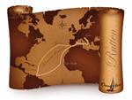 Världskarta Rutten